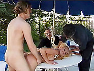 Alluring Model Juicy Pussy Licked Then Ravished Outdoor