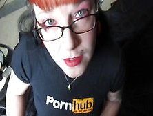 Blowjob For Pornhub With Smoking And Lipstick!