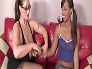 Eva Notty And Leilani Leeane Playing In A Very Sexy And Erotic L