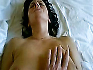 Fucking A Busty Brunette Cougar In Missionary Style