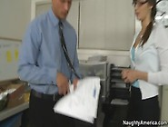 Skinny Office Girl Pussy Licked And Fucked