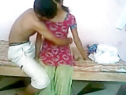 Desi Girlfriend Sex Scene Filmed In The College Dorm