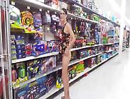 Daring Girl - Mini Dress Upskirt At Mall
