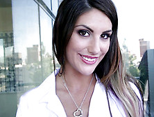 Time For Big Tits Porn Model August Ames To Get Busy With Cock A