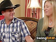 Courageous Inexperienced Couples Meet In The Swing House To Make