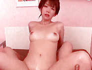 Hungry And Naked Japanese Cutie Is Giving Real Blowjob