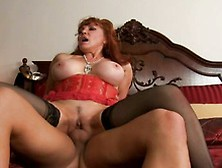 Busty Shanna Mccullough Sharing A Cock And Moaning