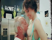 Old And Young Porn - Sweet Innocent Girlfriend Gets Fucked By Gr