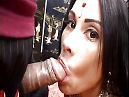 Indian Beauty Does It Traditionally @ Curry Cream Pie #02