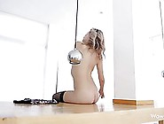 Sexy Blonde Wife Is Often Dancing For Her Husband In Erotic Ling