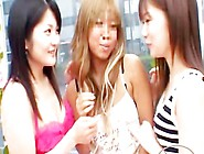Tanned Girl Kissing Spitting Getting Her Tits Rubbed By 2 Girls