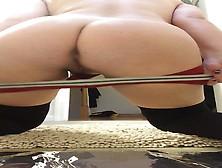 Hottest Girl Ever Poops Long Soft Log On Camera