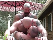 Bear Raw Threesome