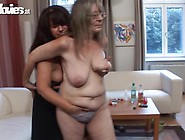 Mature Donna Lesbo Rub And Touch Each Other