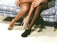 Mature Woman And Young Girl Have A Foot Fantasy