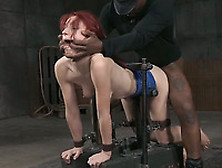 Doggy Style Fixation For Bdsm Style Fmm Threesome With Two Men