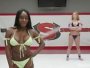 Cheyenne Jewel,  Kelli Provocateur,  Muscles,  Wrestling