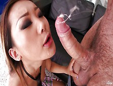 He Blows His Jizz In No Time At All When He See Asian Ass