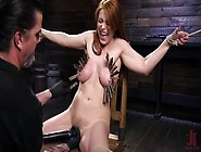 Submissive Redhead Penny Pax Punished Hard Bdsm