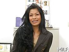 Latina Mature Fucks On The Office Table On Casting