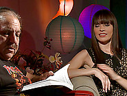 Ron Jeremy Does An Interview With A Hot,  Horny Babe