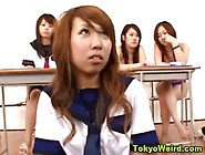 Asian Teens In Schoolgirl Outfits Get Groped And Fingered Hard I