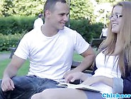 Beautiful Spex Teen Banged Perfectly Video
