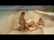 Laura Jane & Her Half Sister Works On A Fkk Beach