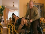 Kinkalicious Floozy In Crotchless Pantyhose Gets Her Love Holes