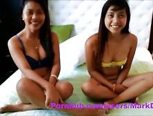 Mark Dugni's Povs: Cute Asian Teens Tisha And Leila Threeso