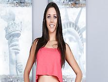 Slim Pornstar,  Anna Morna Takes A Giant Brazilian Cock