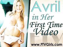 Avril Just Sex (Big Dildo,  Self Fisting)