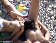Mamada En La Playa Muy Bueno!!!