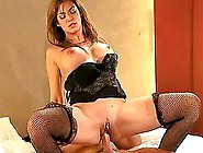 Experienced Brown-Haired Milf Gets Fucked And Facialed