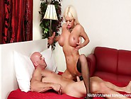 Russian Milf Nikita Takes A Big Dick Before Eating His Cum