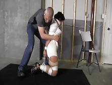 Sahrye With Blouse Bound And Gagged