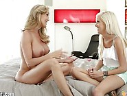 Mommysgirl Teens First Lesbian Sex With Step-Mom Full Scene