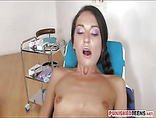 Tight Teen Nataly Gold Ass Screwed By The Doctor In A Clinic