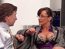 Cutie Lisa Ann Hardcore Fuck With Her Boss