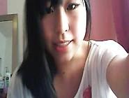 Cute Korean Girl Shows Tits