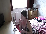 A Exhibitionist Wife Dressing In Front Of The Window 680P