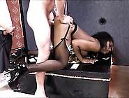 Hot Ebony Stripper Bukkake Facial By Bbc