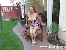 Grandma Really Knows How To Make Herself Cum