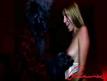 Philavise - Cadence Lux And A Werewolf Blowjob