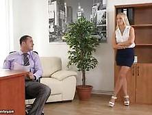 Kinky Office Job For Kiara Lord