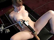 Nerdy Marie Mccray Gets Toyed By A Machine In Her Office