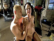 Slave Brunette Melissa Lauren With Juicy