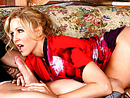 Fucking Hot Milf Sucks Dick