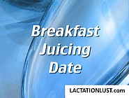 A Group Of Lactating Women Get Together For Some Breakfast Milk