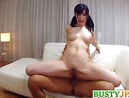 Wild Asian Babe Bounces Her Pussy On This Hard Dick